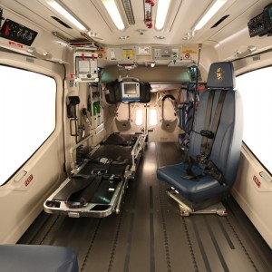 Aerolite Receives EASA STC for EC145 T2 EMS Interior