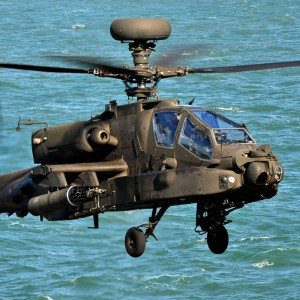 US Navy Surface Forces and Army Attack Helicopters Conduct Integration Operations in Arabian Gulf