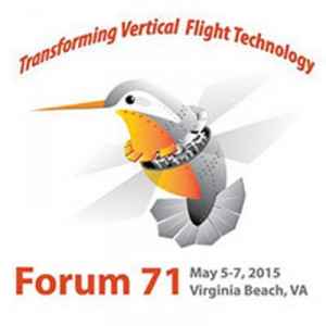 AHS Forum 71 Preliminary Technical Paper Schedule Now Available