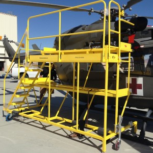 All Metal MS releases custom maintenance stands for the UH72/EC145