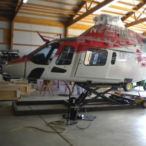 AMS Heli Design Introduces Revolutionary Helicopter Shipping Platform