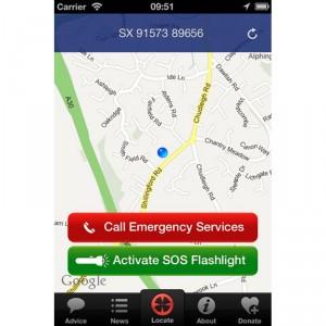"Devon Air Ambulance releases free ""Locate me"" iPhone App"