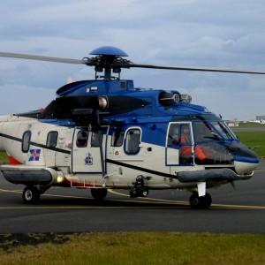 Icelandic Coast Guard lease in a Super Puma