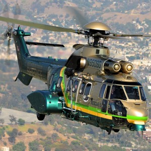 Vector to perform G check and 12-year on one LA Sheriff Super Puma