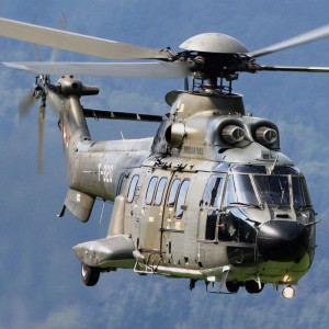 Super Pumas Resume Flight with Swiss Air Force