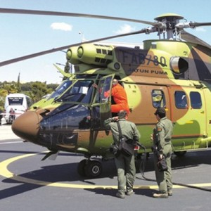 Bolivian Air Force takes delivery of first AS332C1e