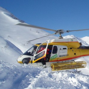 Heli-skiing operators targeting intermediate skiers