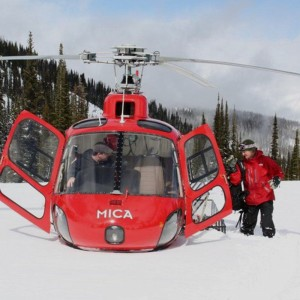Mica Heliskiing Partners Up for the Ultimate Heliskiing Experience