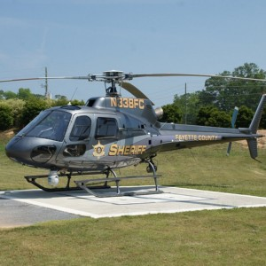 Fayette County Sheriff upgrades from military surplus to AS350B2