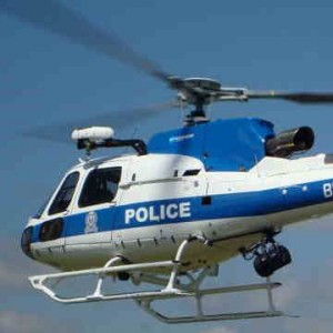 Botswana's Police Air Support Branch takes off with two Eurocopter AS350B3 helicopters