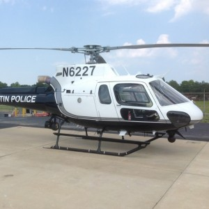 Austin Police launches Eurocopter AS350B3e operations