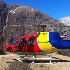 Mountain Helicopter conducts successful test flight from Bajhang to Hilsa
