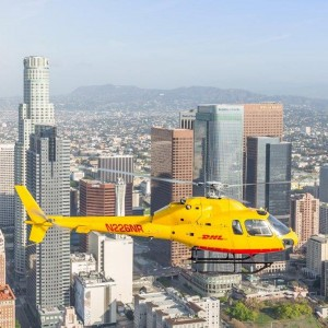 DHL launches Los Angeles helicopter parcel service