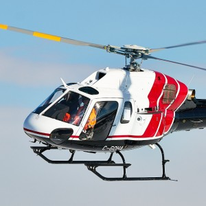 Airbus Helicopters Canada Delivers AS355to Hydro One Inc.