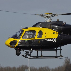 PDG Helicopters deliver second of two 355s to Network Rail
