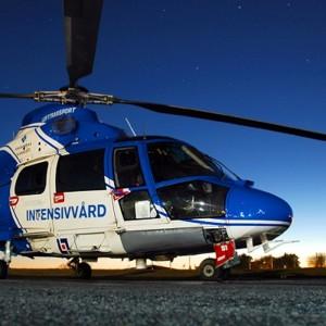 Scandinavian MediCopter takes off in Gällivare
