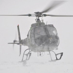 Danish helicopters off to Norway to practice white-out landings