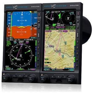 STC for Aspen Evolution Flight Display System on MD500