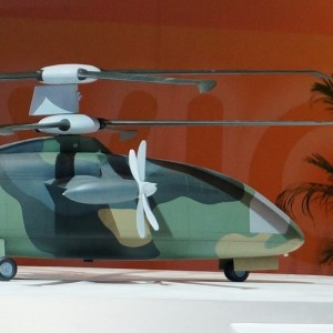 """China studies """"Avant-Courier"""" speed helicopter concept"""