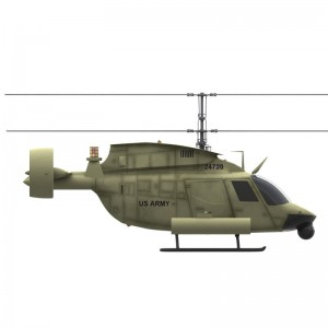 Kiowa OH-58 AVX Configuration Can Reduce Brownout