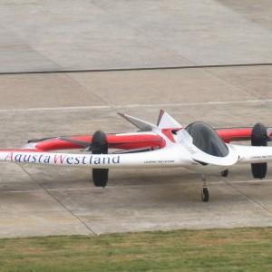 "AgustaWestland unveils ""Project Zero"" Tilt Rotor Technology Demonstrator"