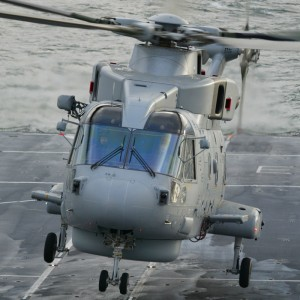 Busy helicopter squadron see 10 years with Merlin