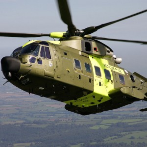 Danish AW101 helicopters equipped with Terma self-protection suite
