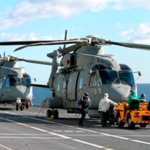 Italian Navy Takes Delivery Of Its 21st AW101 Helicopter