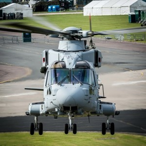 First Royal Navy AW101 Merlin Mk.4 flies