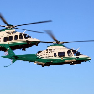 Bulgarian Border Police takes delivery of two AW109 Powers and an AW139