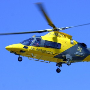 UK – The Air Ambulance Service marks 25,000th mission