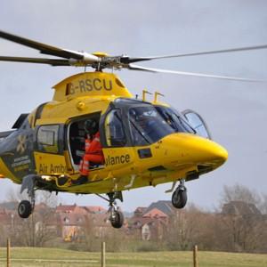 Warwickshire and Northamptonshire Air Ambulance celebrates 16,000th mission