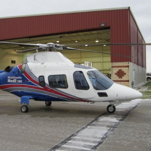 AgustaWestland delivers first of two AW109 Powers  to Keystone Med-Flight