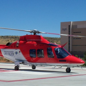 Utah Valley Regional Medical Center celebrates 13 years of Lifeflight