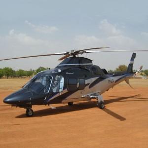 AgustaWestland delivers Grand into Burkina Faso