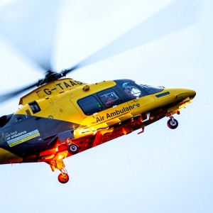 The Air Ambulance Service charity predicts £2.2M income shortfall but still has £12M in the bank