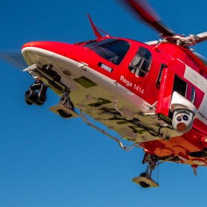 Airborne LINX integrated solution goes live with Rega on AW109SP