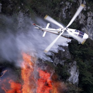 FAA warns against drone flights near wildfires