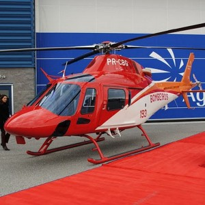 Brazil's Goias State takes delivery of AW119 for Fire Department