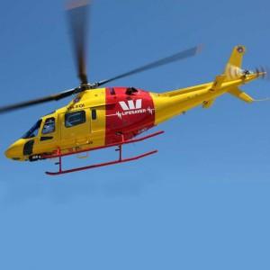 Surf Life Saving takes on AW119Ke in Western Australia