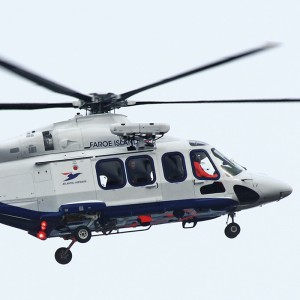 First of two AW139s for Atlantic Airways now in flight test
