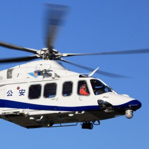 Chinese police helicopter fleet to double in five years