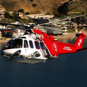 Spectrum Aeromed delivers for Los Angeles Fire Dept AW139