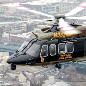Maryland State Police Takes Delivery of 10th AW139
