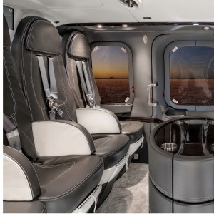 Mecaer delivers VIP AW139