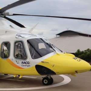 RACQ Careflight completes first AW139 mission