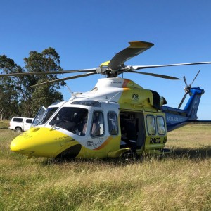 RACQ LifeFlight Rescue helps launch Road Safety Week