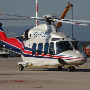 The Helicopter Company of Saudi Arabia takes delivery of its first AW139