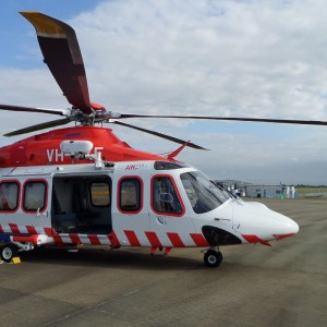 Safe Flight Powerline Detection System fitted to Australian Helicopters' AW139s