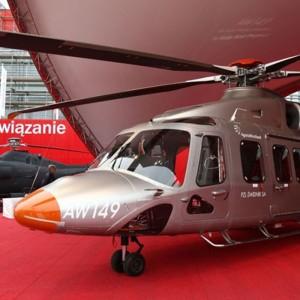 AgustaWestland displays AW149 at MSPO 2012